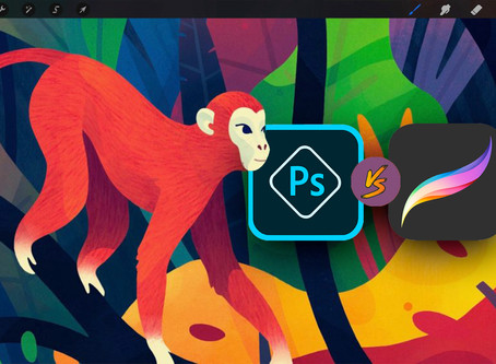 Procreate vs Photoshop: Which one is better for you?