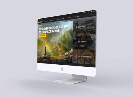 Saris Corporate Website Design