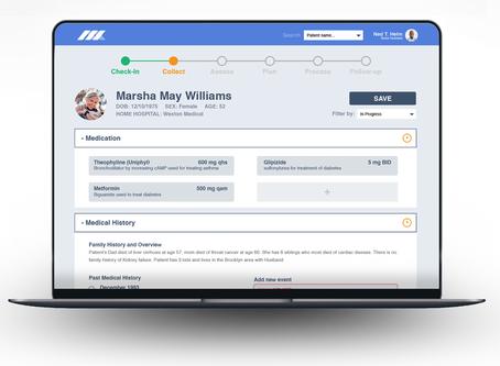Aurora Medical Website Wireframe