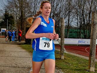 Verena Pachlatko ist Landesmeisterin über 10.000m