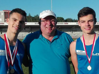 Tobias und Daniel Rattinger bei Landesmeisterschaften erfolgreich
