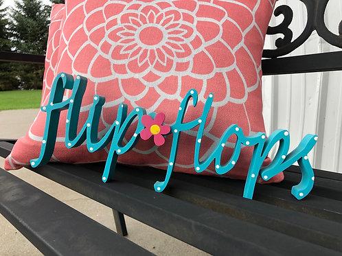 Flip 🌸 Flops Word