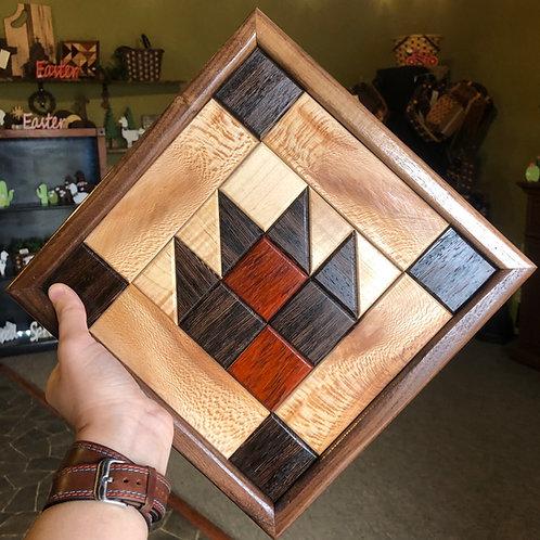 Quilt Block (Bear Paw)