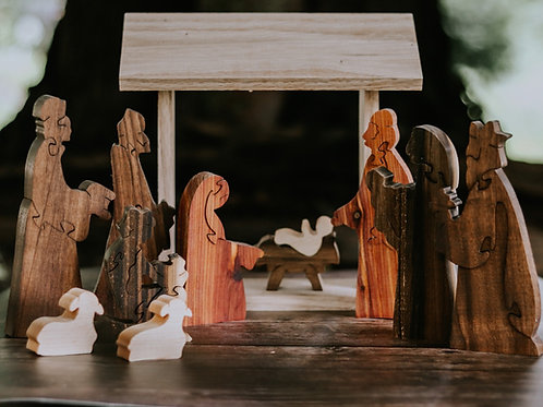 Come Gather Around and Worship Nativity - Complete set.