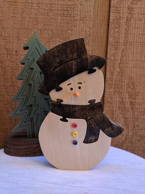 Large Snowman Puzzle