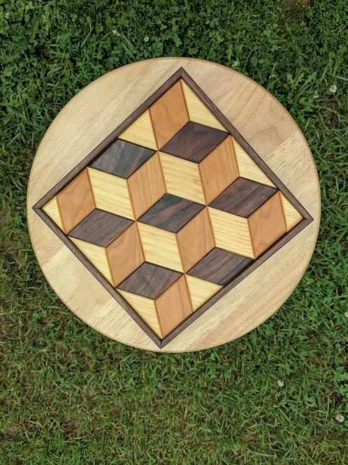 Quilt Block (Tumbling Blocks)