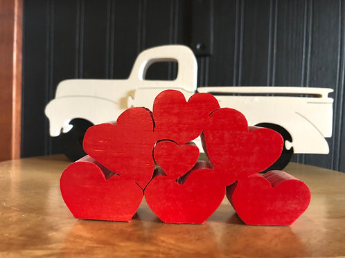 Heart Accessory for Truck (Truck not included)