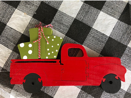 Christmas truck w gifts