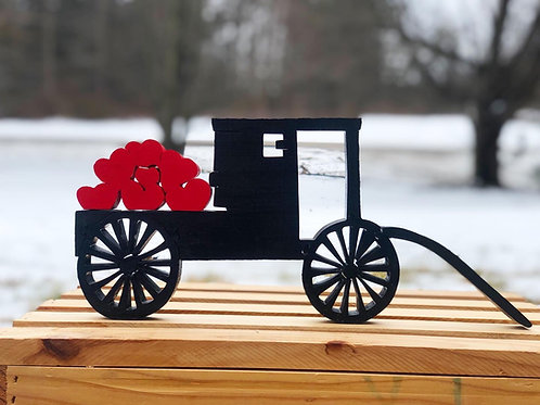Amish Buggy (with hearts ♥️ )