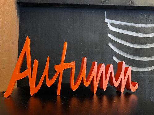 Autumn Word