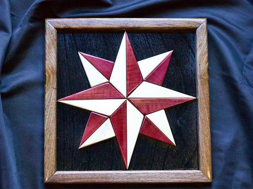 Mariner's Compass Quilt Block