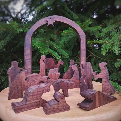 Large Nativity