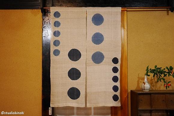 No.12  絞りのれん 藍染