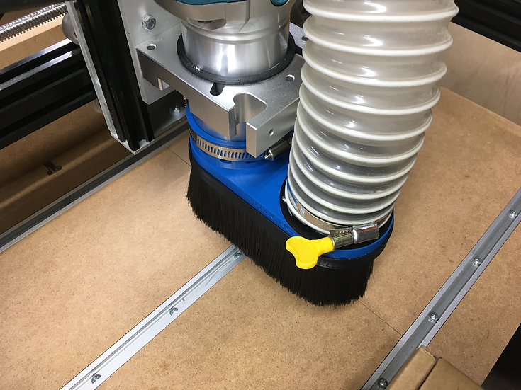 Makita RT0701C - Custom size vacuum attachment