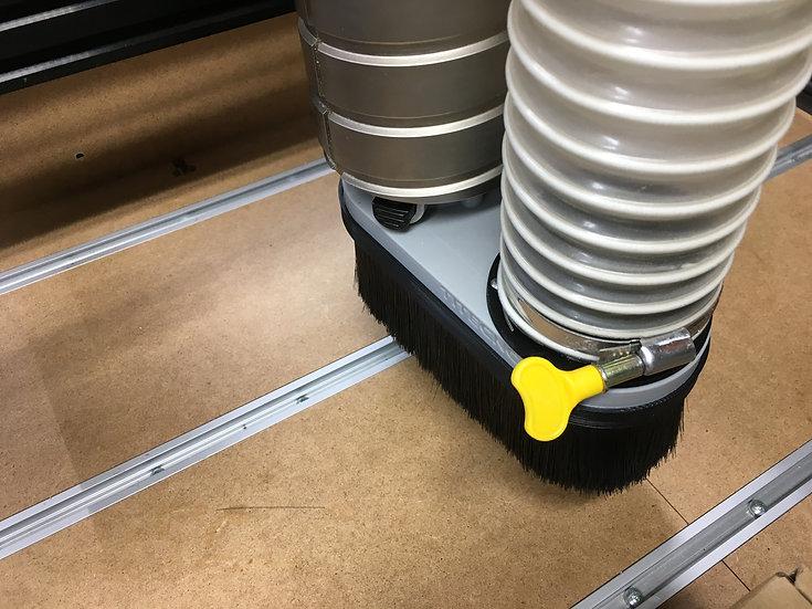 Dewalt DW618 - Custom size vacuum attachment