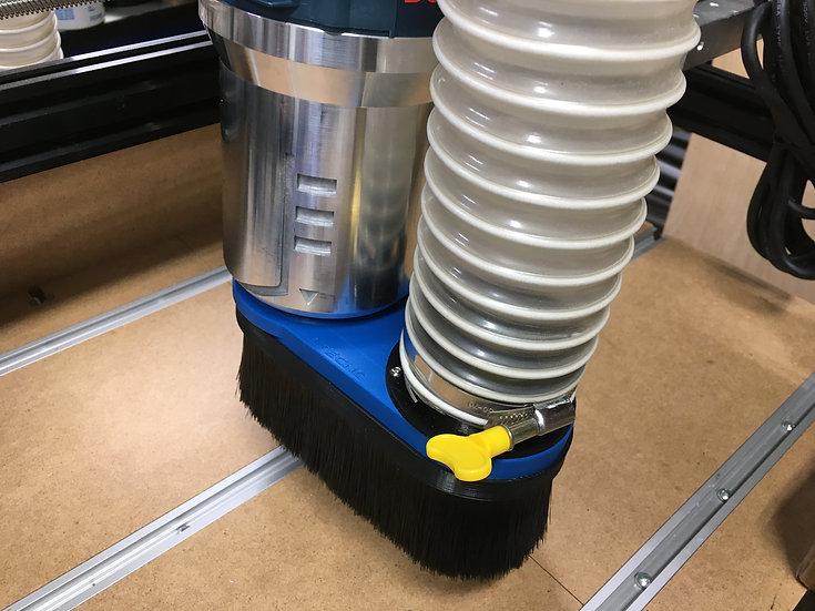 Bosch 1617 - Custom size vacuum attachment