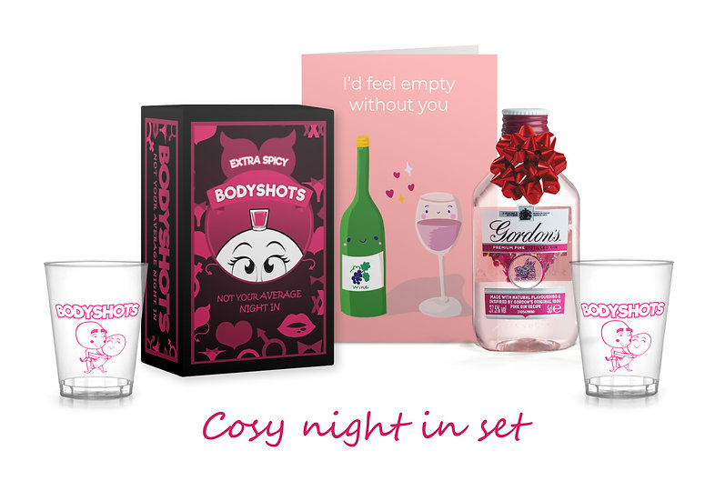 Cosy Night In Gift Set (Extra spicy)