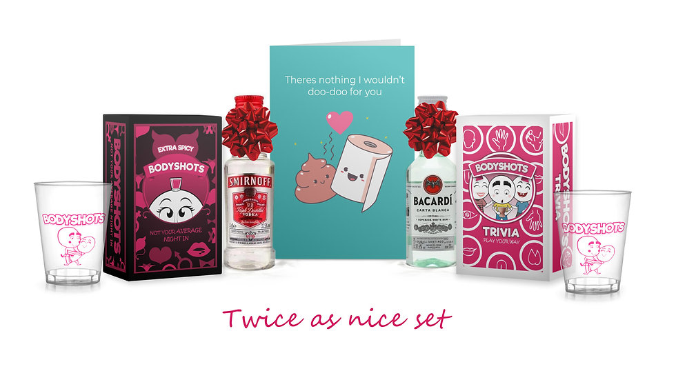 Twice as Nice Gift Set (Spicy)