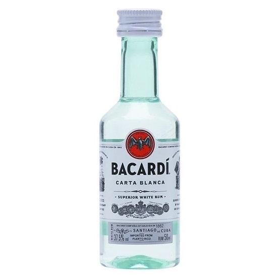 Bacardi Carta Blanca Rum 50ml