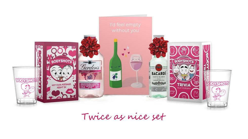 Twice as Nice Gift Set (Fun for all)