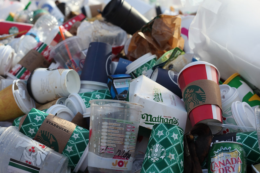 Computer vision to identify brands responsible for waste