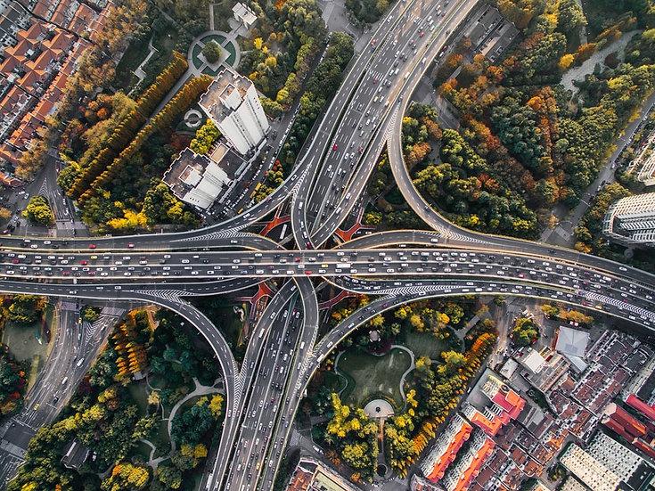 Visual traffic analysis system