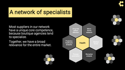 Network of specialists