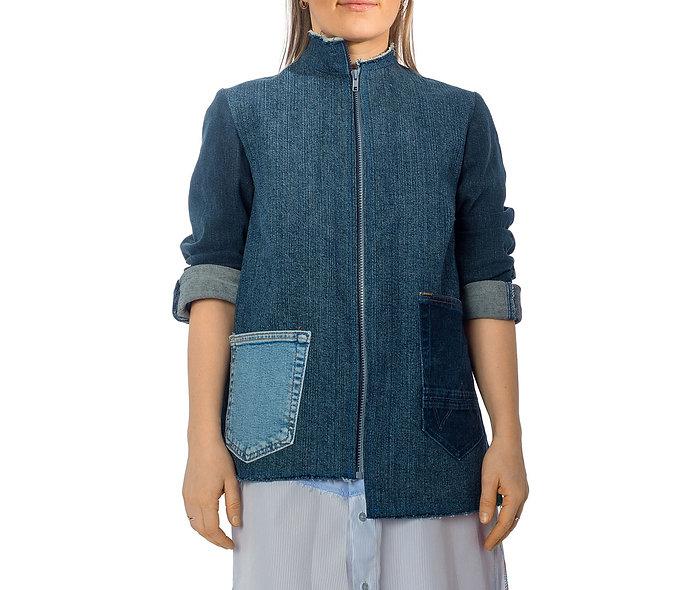 Asymmetrische Jacke Gr. 38