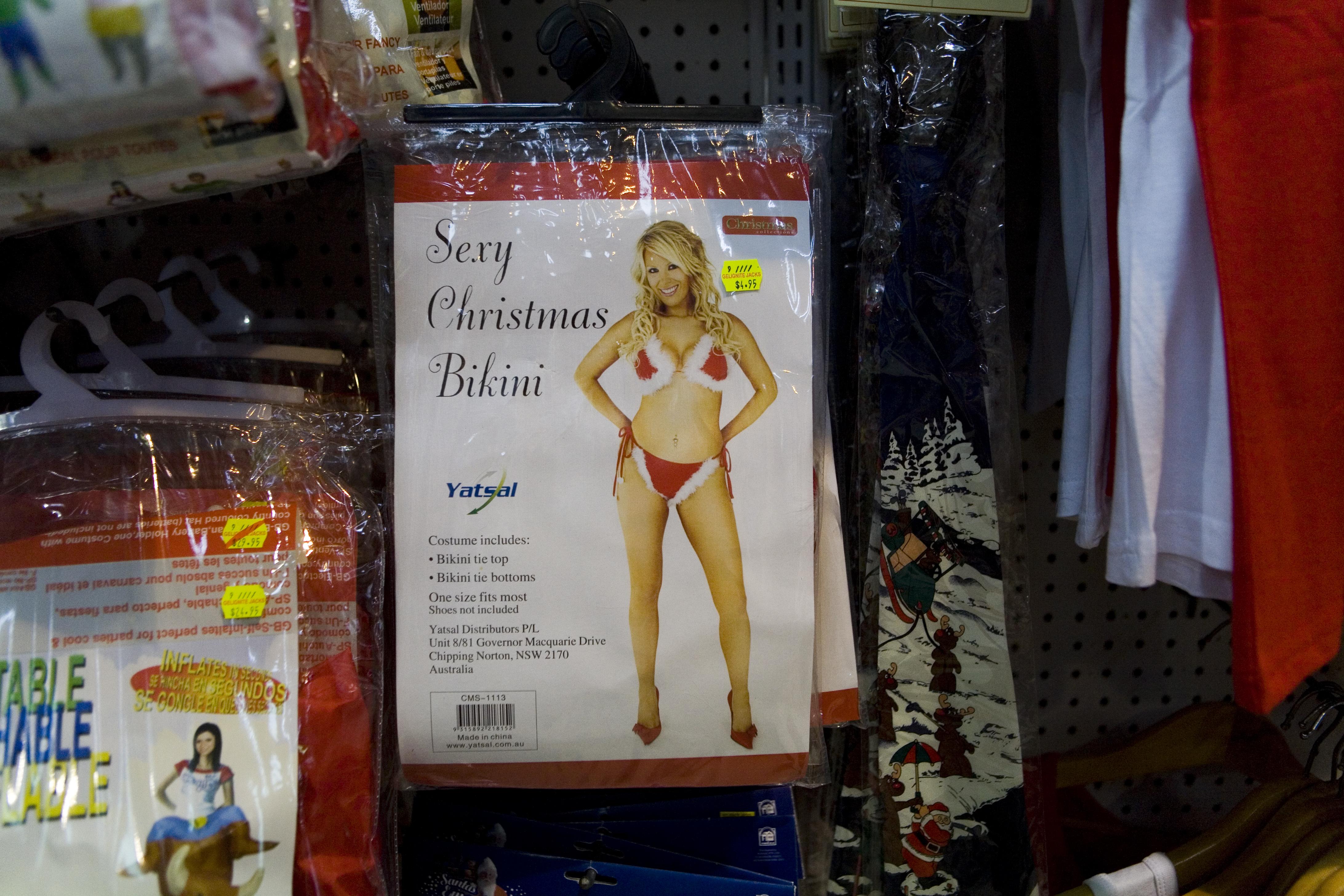 Sexy Christmas bikini