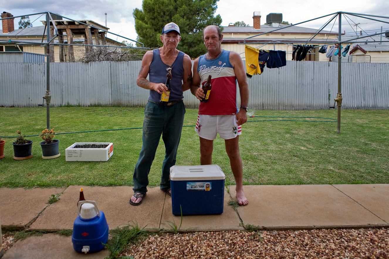 Two blokes in Narrabri