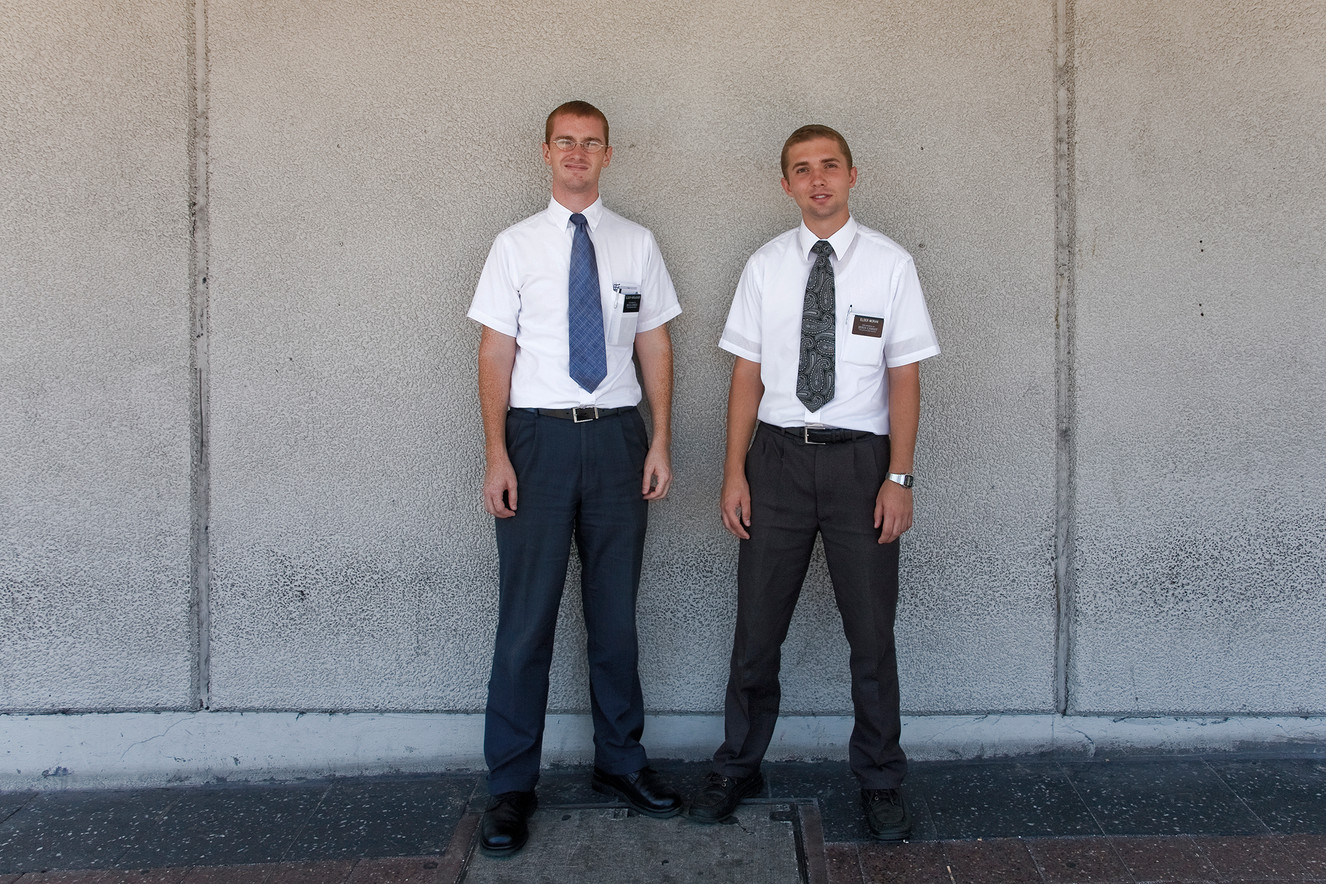 Elder Horlacher & Elder Moran