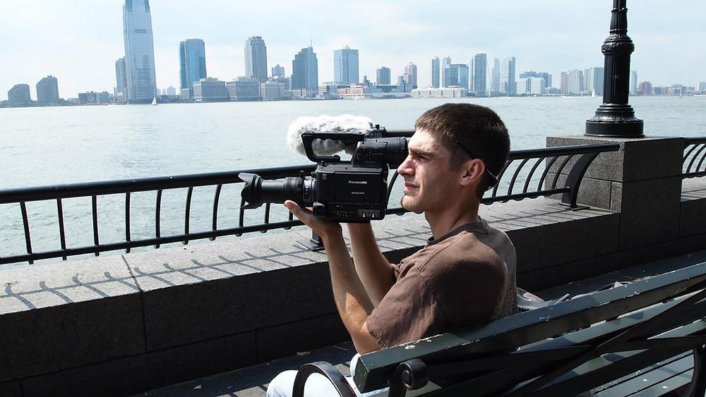 Benjamin Tincher at work in NYC!