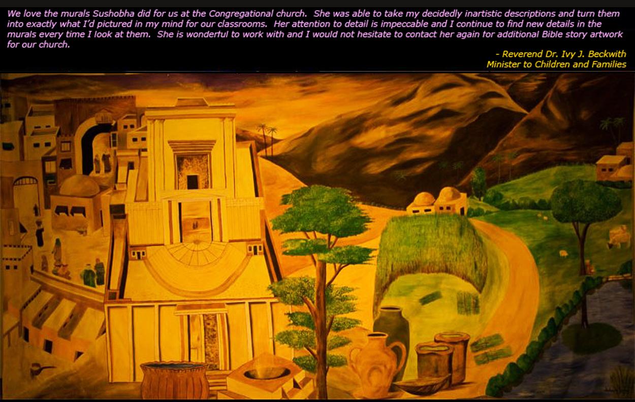 Temple of Solomon & Scenes from Jeru