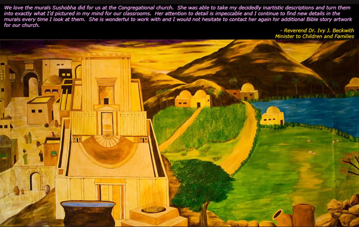 Temple of Solomon & Scenes from Jerusalem II