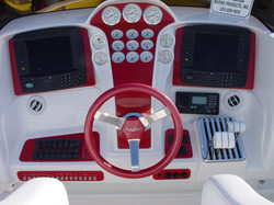 DEEP IMPACT CONSOLE AND SWITCH PANEL