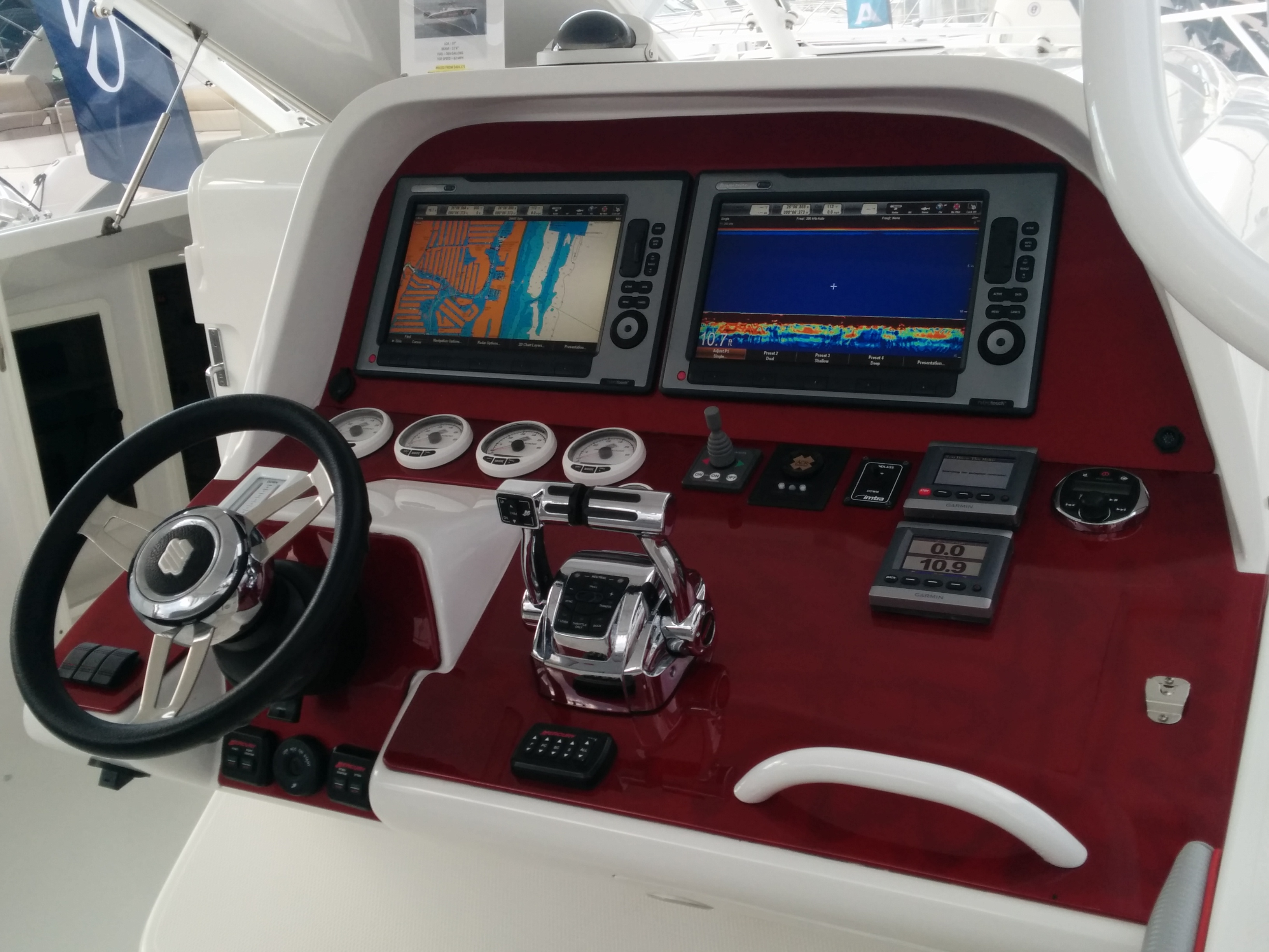 POWERPLAY BOATS CUSTOM DASH PANEL