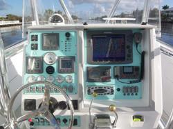 CUSTOM BOAT FISHING DASH PANEL