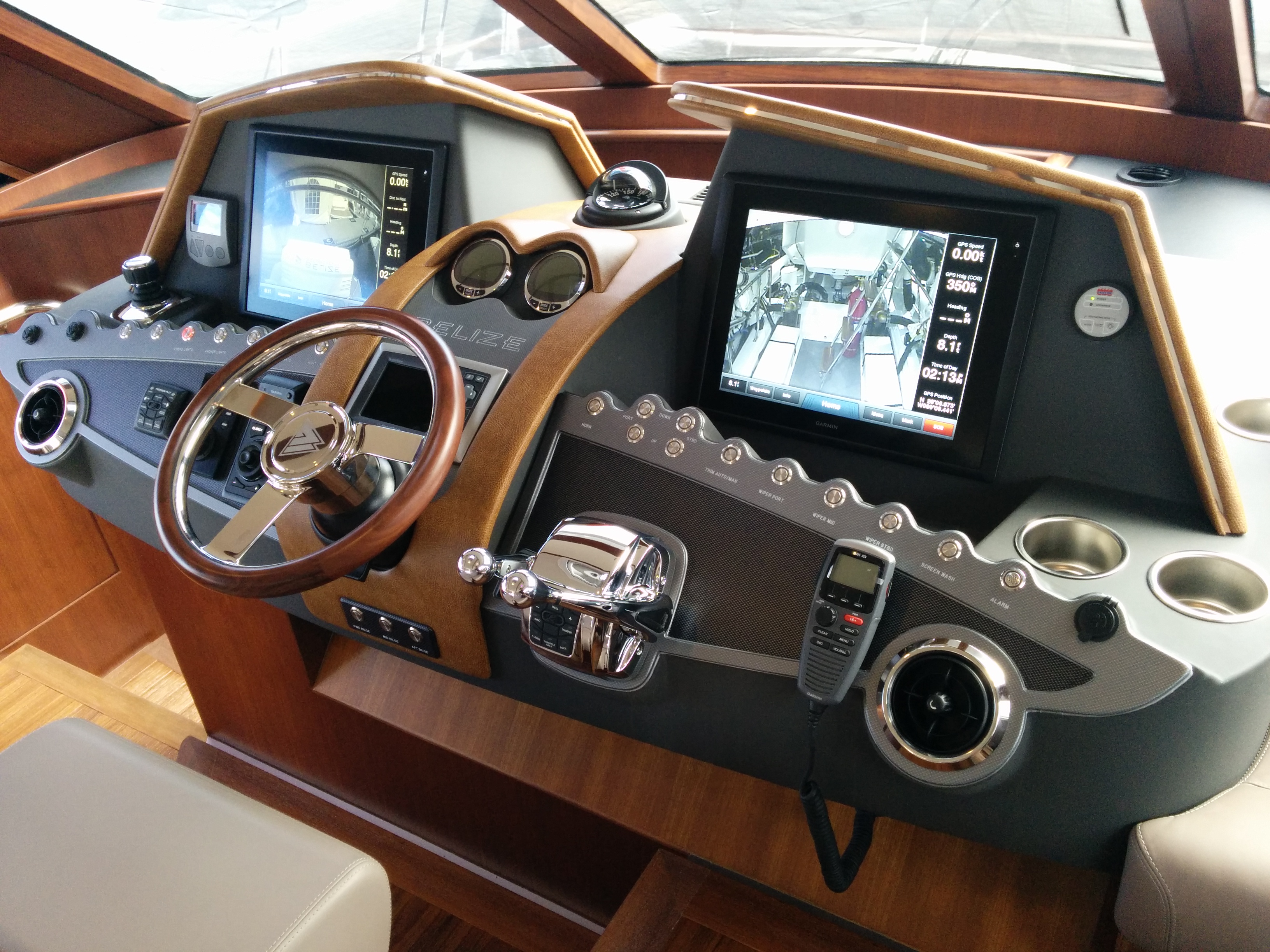 RIVIERA BOAT DASH PANEL