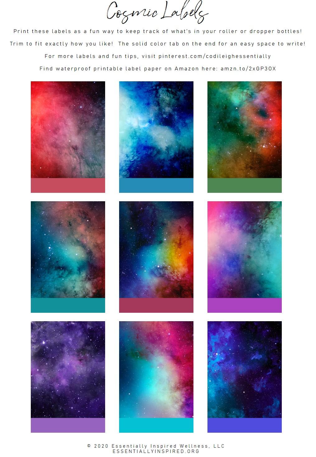 Cosmic Labels