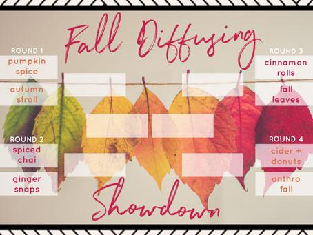 Fall Diffuser Blend Showdown