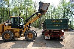 Escombros de dumping