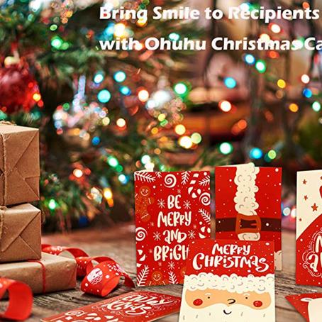 Biglietti di Natale fai da te? Questi prodotti ti faranno cambiare idea!