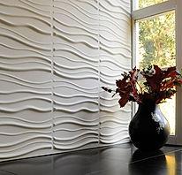 Rivestimento murale in fibra 3d, rivestimenti con pannelli in fibra