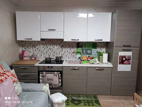 Cucina rimodernata