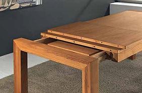 Allunghe tavolo moderno