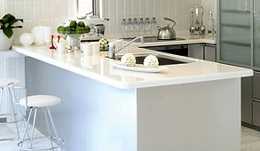 Top cucina in corian, top e vasche in corian, top cucina in solid surface