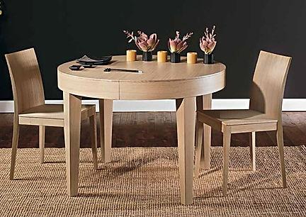 Tavolo moderno tondo