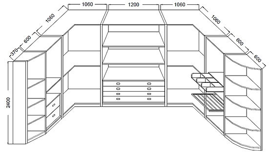 misure cabina armadio, prezzi cabine armadio, cabine armadio grezze su misura