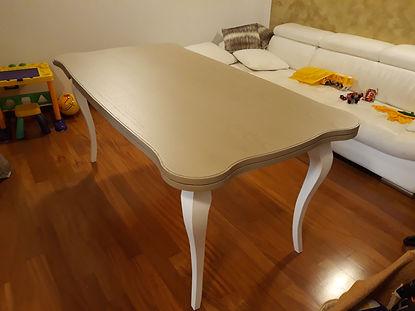 Tavolo rettangolare classio apribile su misura