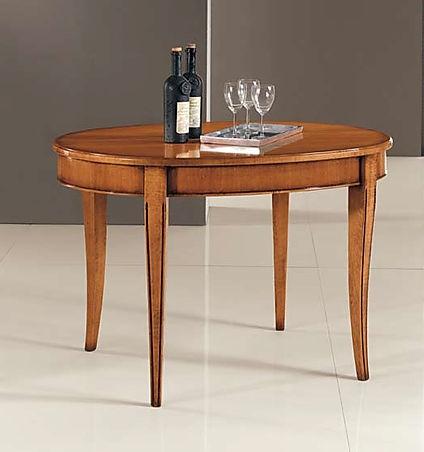 tavolo ovale classico su misura